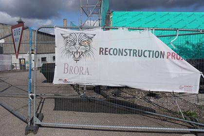 4ブローラ蒸溜所再建中