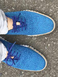 樺沢のおニューの靴の写真