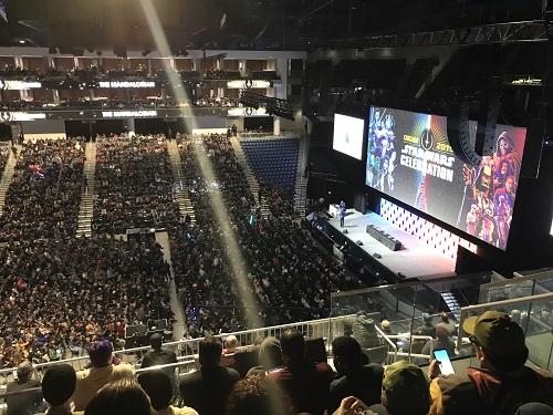 「マンダロリアン」詳細発表会。メイン会場がデカイ!! そして、マニアックなファンの凄い盛り上がり。