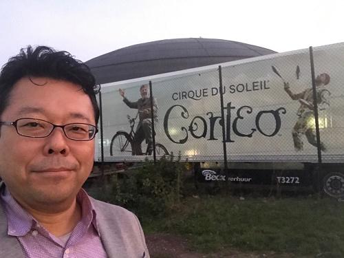普通は入れない「コルテオ」の裏舞台が見られるバックステージツアー